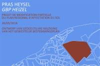 Enquête publique sur la modification partielle du Plan Régional d'Affectation du Sol (PRAS) pour la ZIR Heysel