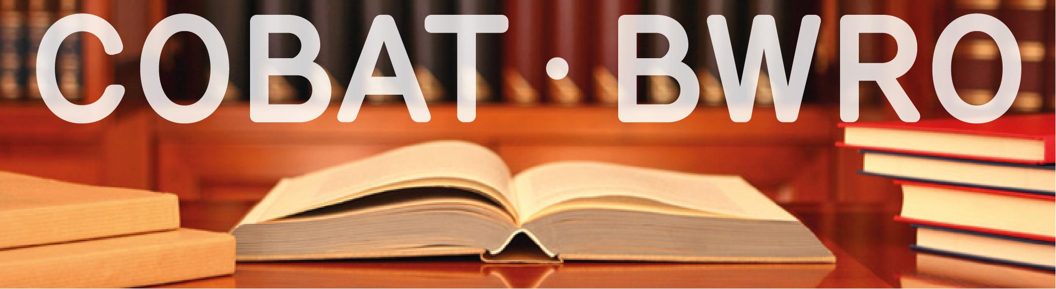 La présentation PDF sur la réforme du CoBAT est à présent disponible !