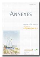 Schéma directeur Botanique : Annexes